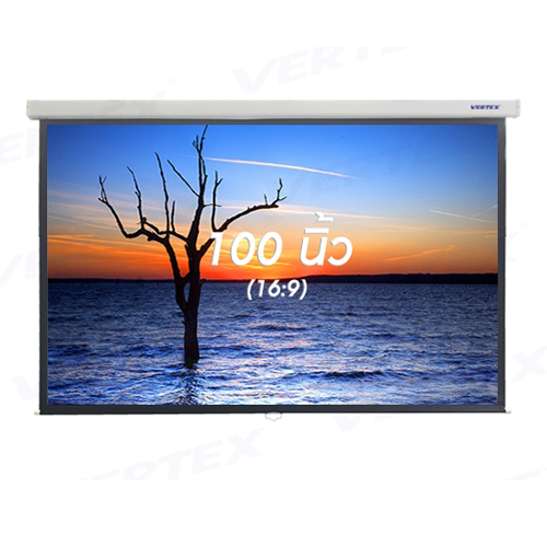 "Vertex Wall screen 100"""